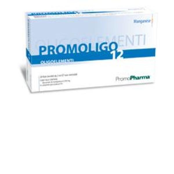 Promoligo 12 Manganese 20 Fiale PromoPharma - Oligoelementi