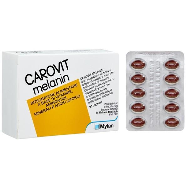 Carovit Melanin 20 Capsule - Integratore Alimentare