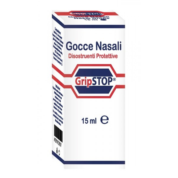 Grip Stop Gocce Nasali 15 ml