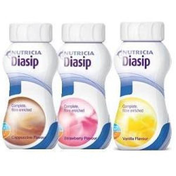Diasip Integratore per Diabetici Gusto Vaniglia 4 x 200 ml