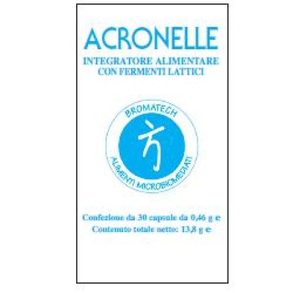 Acronelle 30 Capsule - Integratore Fermenti Lattici