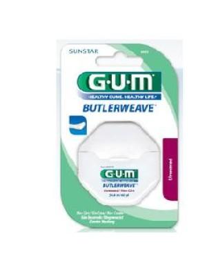Gum Butlerweave Filo Interdentale Non Cerato 54,8 metri