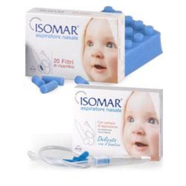 Isomar Aspiratore Nasale Set Completo + 3 Filtri di Ricambio