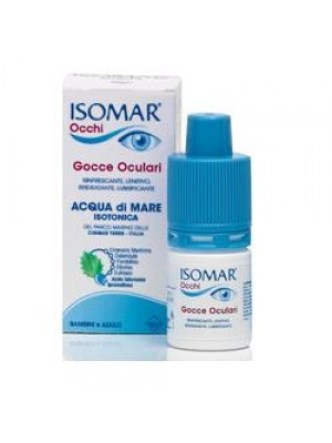Isomar Occhi Multidose Gocce Oculari Occhi Rossi 10 ml