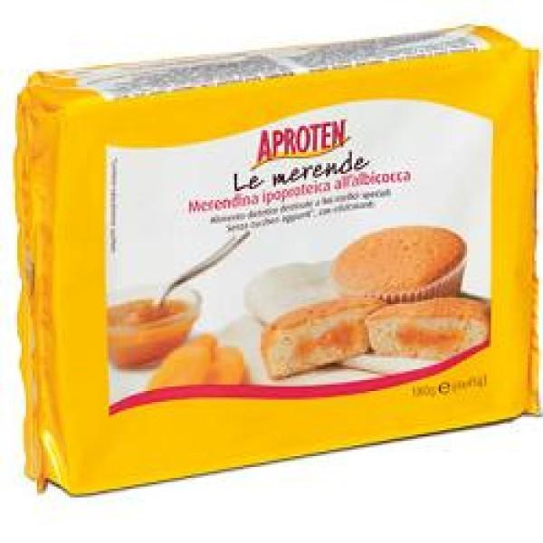 Aproten Merendina Albicocca Ipoproteica Senza Zucchero 180 grammi