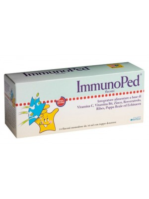 ImmunoPed 14 Flaconcini - Integratore Difese Immunitarie Bambini