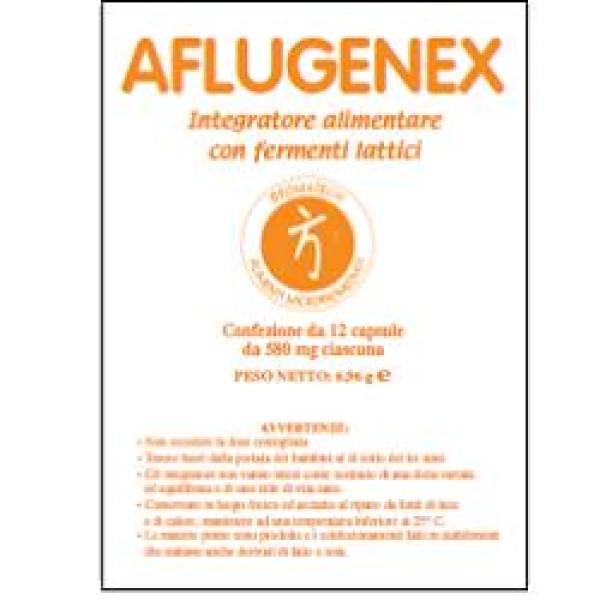 Aflugenex 12 Capsule - Integratore con Fermenti Lattici