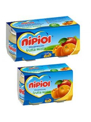 OMO NIPIOL Frutta Mista 2x 80g