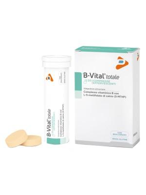 B-Vital Totale Gusto Arancia 20 Compresse Effervescenti - Integratore Alimentare