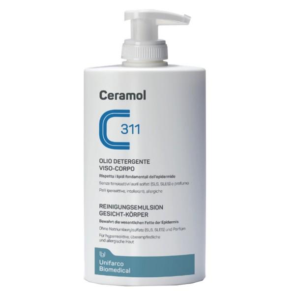 Ceramol 311 Olio Detergente Viso Corpo 400 ml