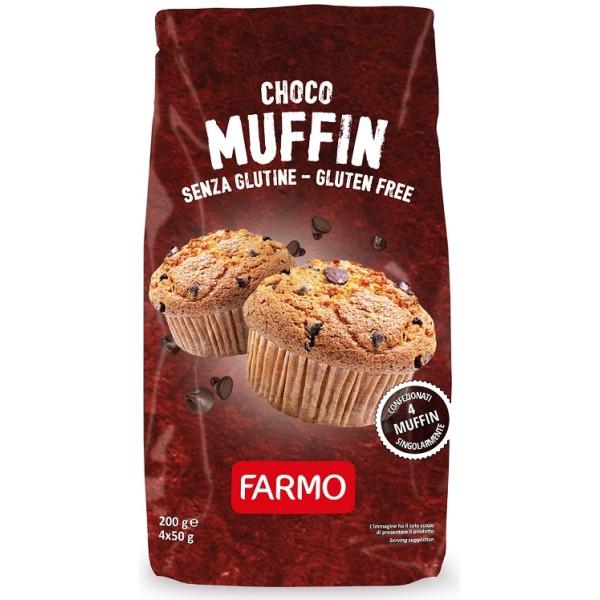 FARMO ChocoMuffin Ciocc.4x50g