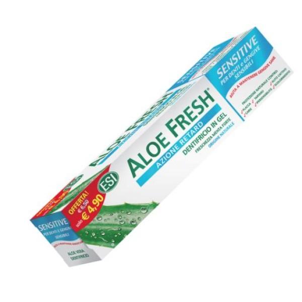 Esi Aloe Fresh Dentifricio Sensitive Denti e Gengive Sensibili 100 ml