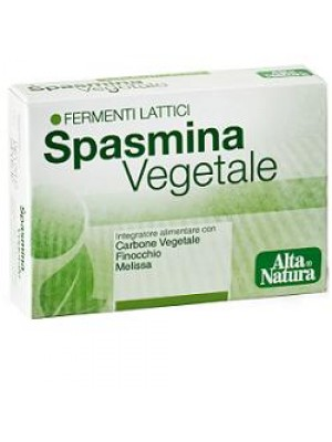 Spasmina Vegetale 30 Opercoli - Integratore Fermenti Lattici