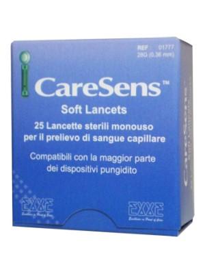 CARESENS SOFT 25 LANCETTE
