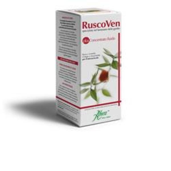Aboca Ruscoven Plus Concentrato Fluido 150 ml - Integratore Gambe Pesanti