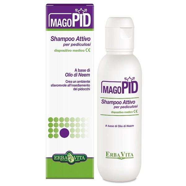 Erba Vita Mago Pid Shampoo Antiparassitario 200 ml