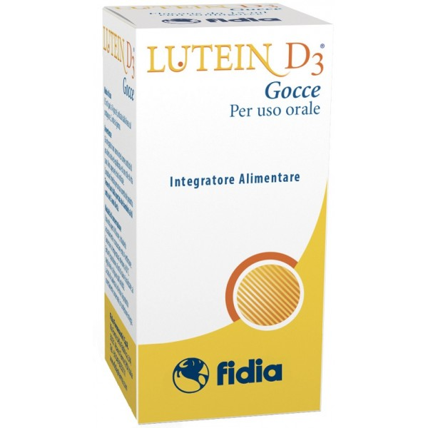 Lutein D3 Gocce 15 ml - Integratore Vista