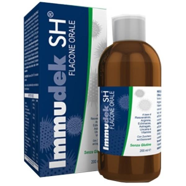 Immudek SH Sciroppo 200 ml - Integratore Sistema Immunitario