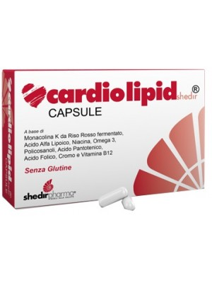 Cardiolipid Shedir 30 Capsule - Integratore Colesterolo