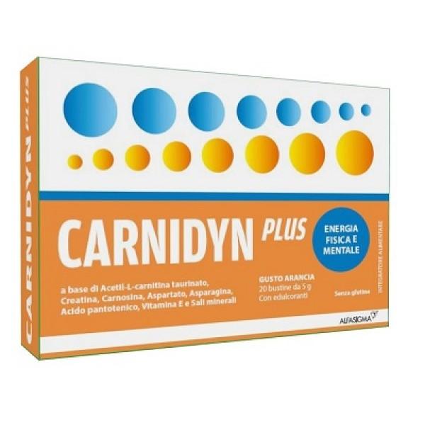 Carnidyn Plus Integratore Alimentare 20 Bustine