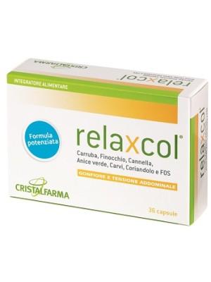 Relaxcol 36 Capsule - Integratore Gonfiore e Tensione Addominale