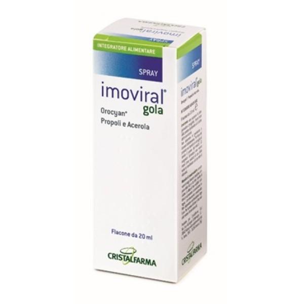 Imoviral Gola 20 ml - Integratore Difese Immunitarie