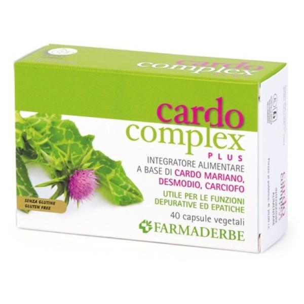 Farmaderbe Cardo Complex Plus 40 Capsule - Integratore Alimentare