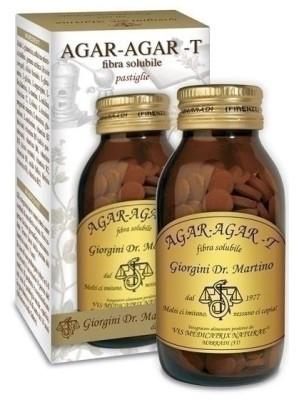 Agar Agar 180 Pastiglie Dr. Giorgini - Integratore Fermenti Lattici Probiotici