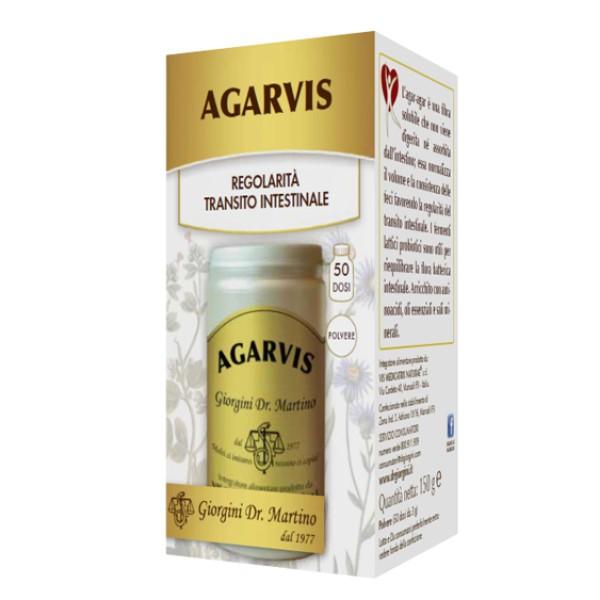 Agarvis Polvere 150 grammi Dr. Giorgini - Integratore di Fibra Solubile
