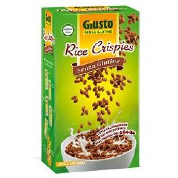 Giusto Senza Glutine Riso Soffiato al Cacao Rice Crispies Gluten Free 250 grammi