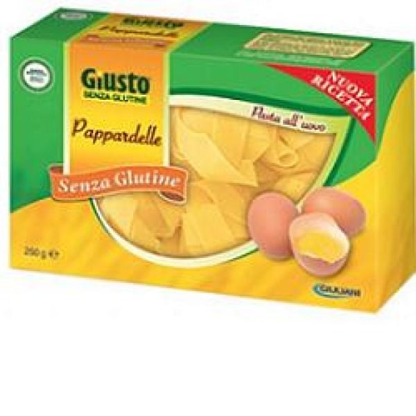 Giusto Senza Glutine Pappardelle all'Uovo Gluten Free 250 grammi