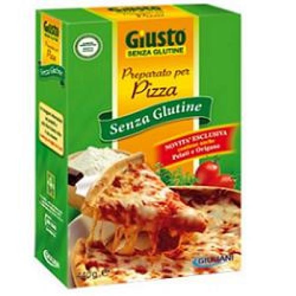 Giusto Senza Glutine Preparato per Pizza Gluten Free 440 grammi