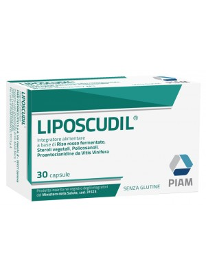 Liposcudil Integratore Alimentare Colesterolo 30 capsule