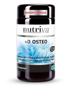 Nutriva D+ Osteo 50 Compresse - Integratore Vitamina D3