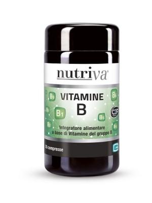 Nutriva Vitamine B 50 Compresse - Integratore Vitamina B