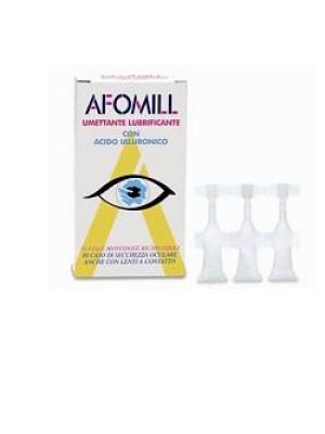 Afomill Lubrificante Gocce Oculari 10 Flaconcini Monodose