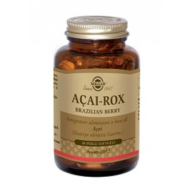 Solgar Acai-Rox Brazilian Berry 60 Perle - Integratore Antiossidante
