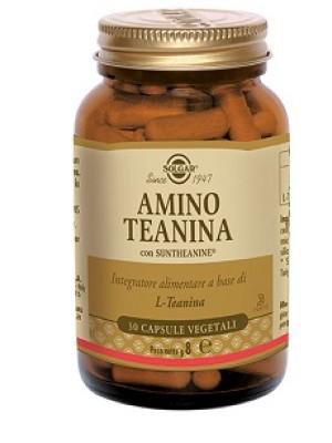 Solgar Amino Teanina 30 Capsule - Integratore Rilassante