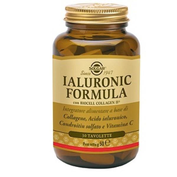 Solgar Ialuronic Formula 30 Tavolette - Integratore di Acido Ialuronico