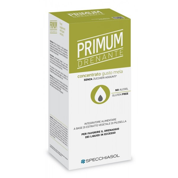 Aquaretico Primum Integratore Alimentare Drenante Sciroppo Specchiasol 250ml