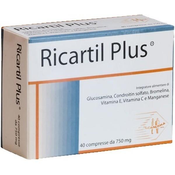 RICARTIL Plus 40 Cpr 750mg