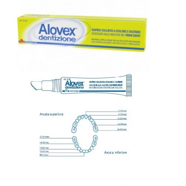 Alovex Dentizione Gel Primi Dentini 10 ml