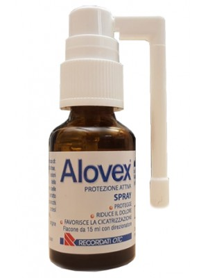 Alovex Protezione Attiva Spray Anti Afte 15 ml