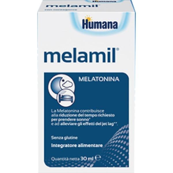 Humana MelaMil Milte Integratore Alimentare per il Sonno Gocce 30 ml