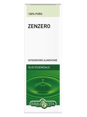 Erba Vita Olio Essenziale Zenzero 10 ml - Integratore Digestivo