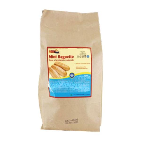 Amino' Happy D Mini Baguette 4 x 75 grammi