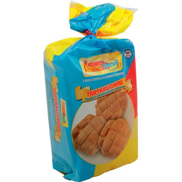 Amino' Happy D Tartarughine Pane a Lievitazione Naturale 4 x 50 grammi