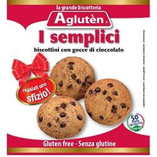 Agluten Biscotti Senza Glutine I Semplici Senza Glutine 100 grammi