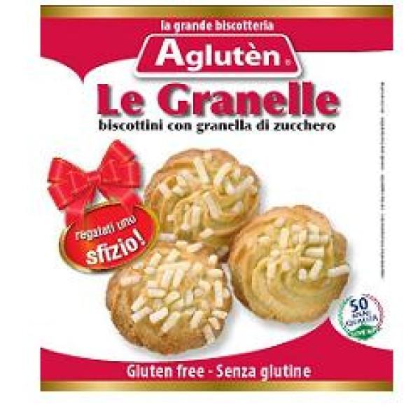 Agluten Biscotti Senza Glutine Le Granelle Senza Glutine 100 grammi