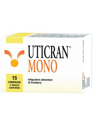 Uticran Mono 15 Compresse - Integratore Alimentare